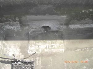 泥や汚れを解消した排水口です。