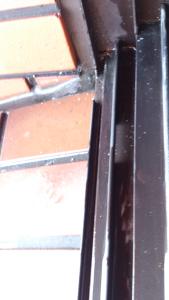 京都大学放射線化の窓枠洗浄施工後