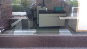 窓洗浄施工前