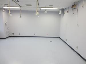 iPS細胞研究室清掃後